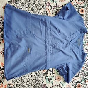 Grey's Anatomy Scrub Top Ceil XS light blue
